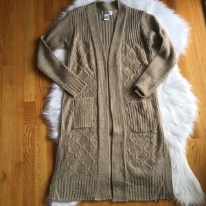 Women's Tan Sweater by Say What Size Large